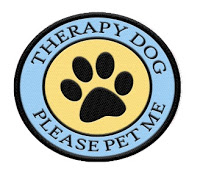 Therapy Dog Please Pet Me